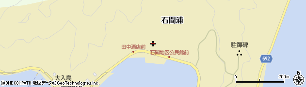 大分県佐伯市石間浦395周辺の地図