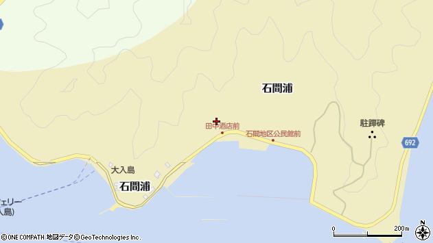 大分県佐伯市石間浦476周辺の地図
