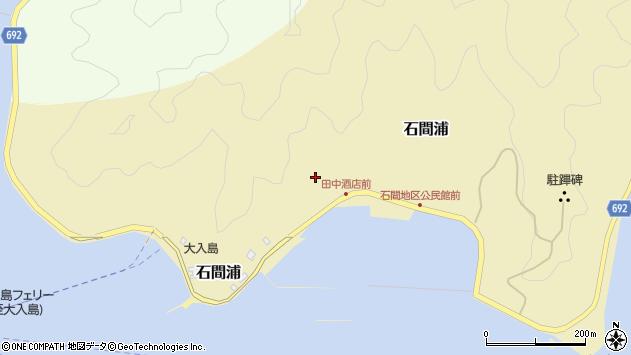 大分県佐伯市石間浦481周辺の地図