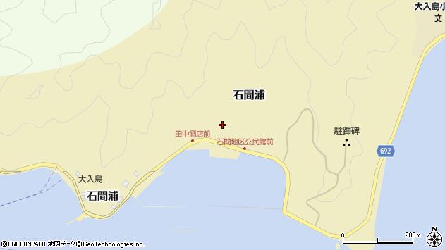 大分県佐伯市石間浦396周辺の地図
