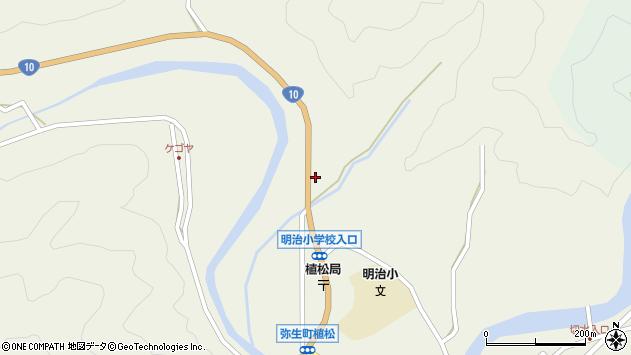 大分県佐伯市弥生大字大坂本1220周辺の地図