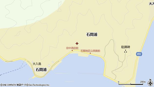 大分県佐伯市石間浦457周辺の地図
