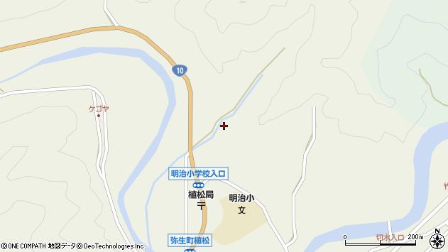 大分県佐伯市弥生大字大坂本1269周辺の地図