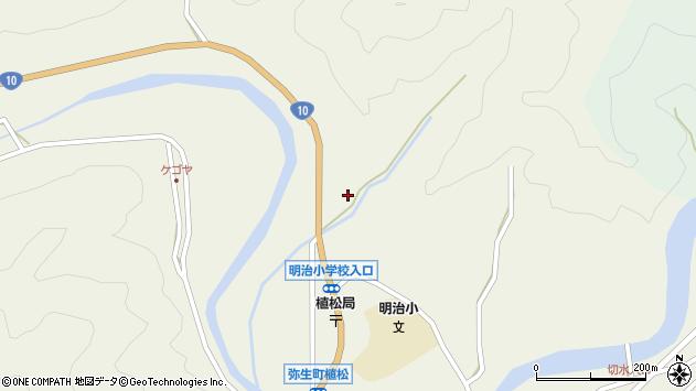大分県佐伯市弥生大字大坂本1235周辺の地図
