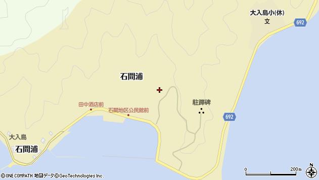 大分県佐伯市石間浦225周辺の地図