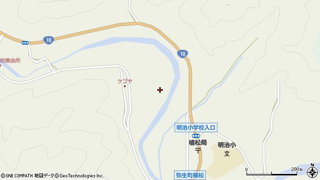大分県佐伯市弥生大字大坂本2354周辺の地図