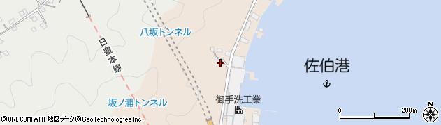 大分県佐伯市鶴望4891周辺の地図