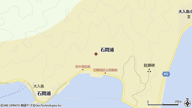 大分県佐伯市石間浦400周辺の地図