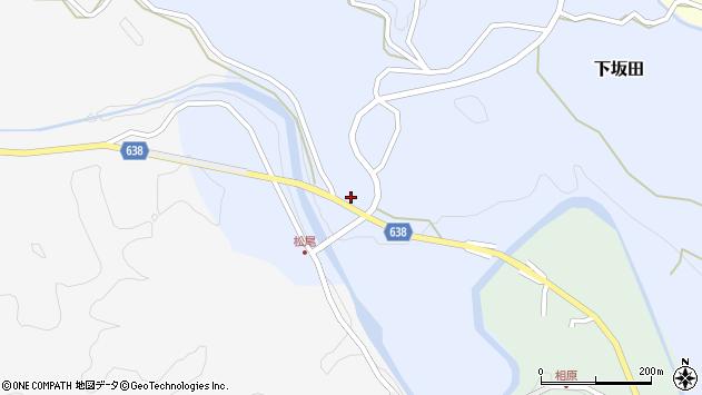 大分県竹田市下坂田258周辺の地図