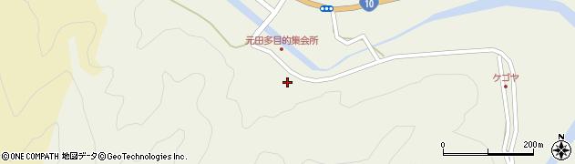 大分県佐伯市弥生大字大坂本1674周辺の地図
