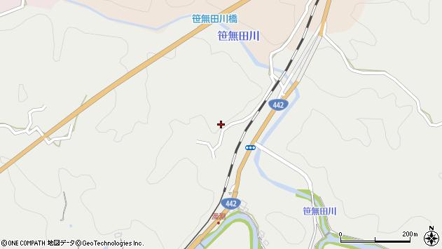 大分県竹田市挟田1474周辺の地図