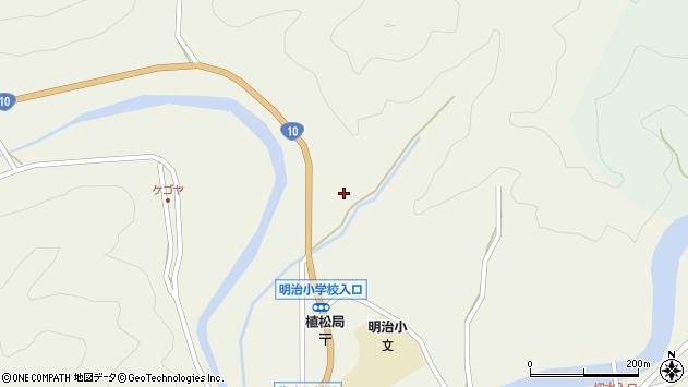 大分県佐伯市弥生大字大坂本1254周辺の地図
