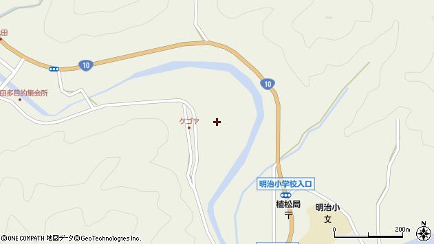 大分県佐伯市弥生大字大坂本2364周辺の地図