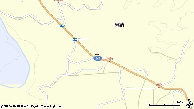 大分県竹田市米納627周辺の地図