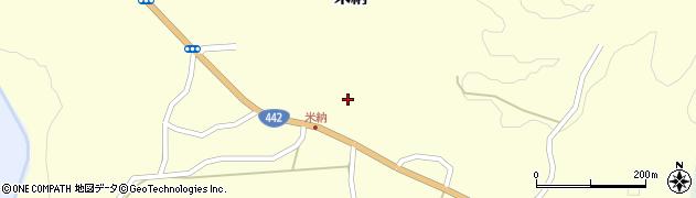 大分県竹田市米納1273周辺の地図