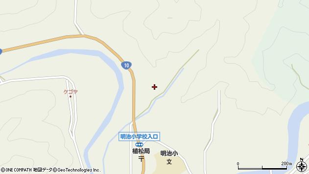 大分県佐伯市弥生大字大坂本1272周辺の地図