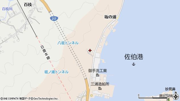 大分県佐伯市鶴望4889周辺の地図
