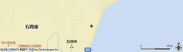 大分県佐伯市石間浦1057周辺の地図