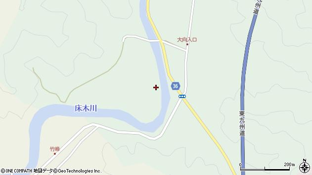 大分県佐伯市弥生大字床木3405周辺の地図