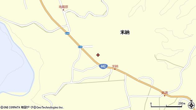 大分県竹田市米納638周辺の地図
