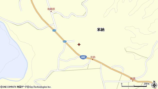 大分県竹田市米納637周辺の地図