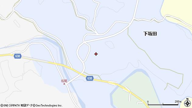 大分県竹田市下坂田303周辺の地図