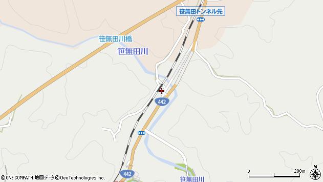 大分県竹田市挟田1502周辺の地図