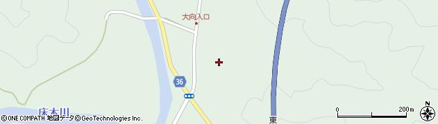 大分県佐伯市弥生大字床木232周辺の地図