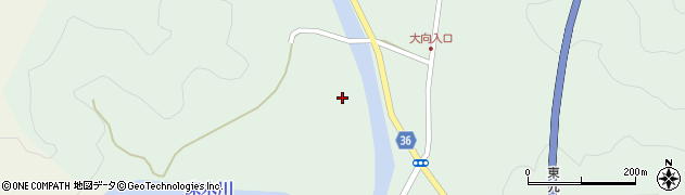 大分県佐伯市弥生大字床木3352周辺の地図