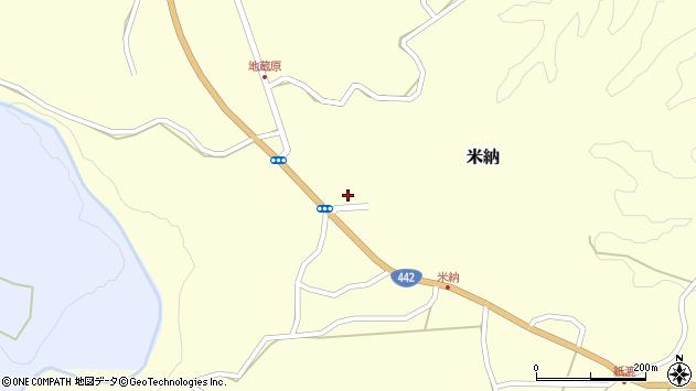 大分県竹田市米納659周辺の地図