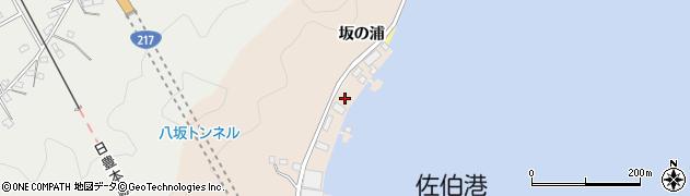 大分県佐伯市鶴望4868周辺の地図
