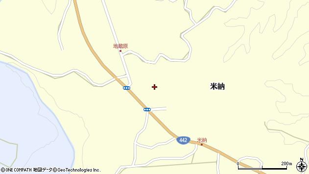 大分県竹田市米納1152周辺の地図