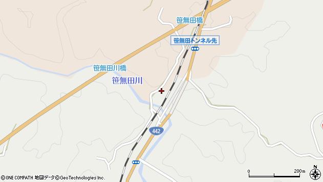 大分県竹田市挟田2296周辺の地図