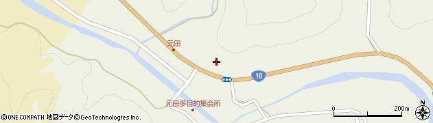 大分県佐伯市弥生大字大坂本1731周辺の地図