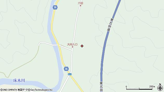 大分県佐伯市弥生大字床木309周辺の地図