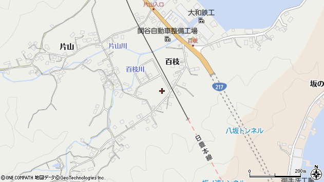 大分県佐伯市海崎316周辺の地図