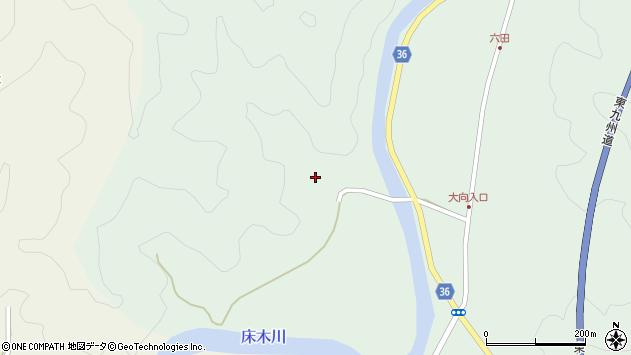 大分県佐伯市弥生大字床木3315周辺の地図