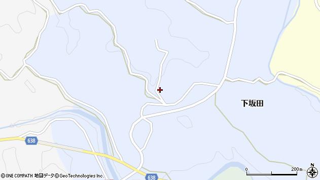 大分県竹田市下坂田720周辺の地図