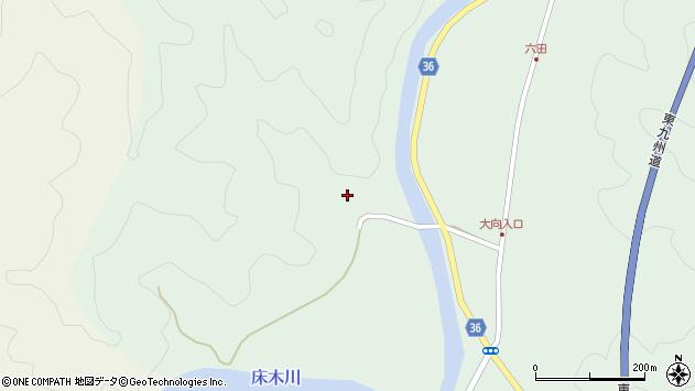 大分県佐伯市弥生大字床木3270周辺の地図
