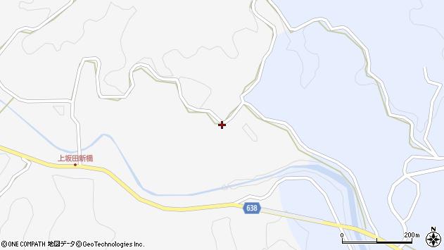 大分県竹田市上坂田1083周辺の地図
