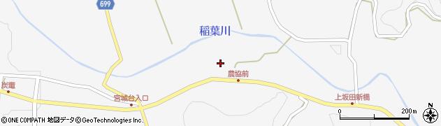 大分県竹田市炭竈358周辺の地図