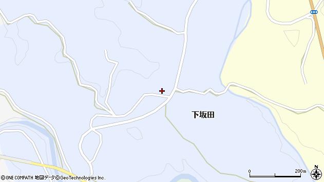 大分県竹田市下坂田683周辺の地図