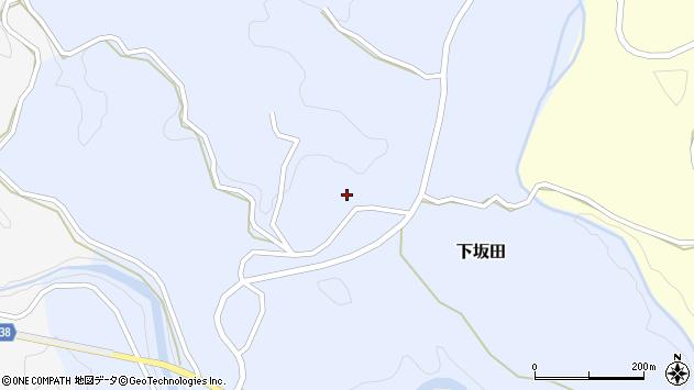 大分県竹田市下坂田680周辺の地図