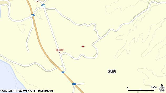 大分県竹田市米納1110周辺の地図