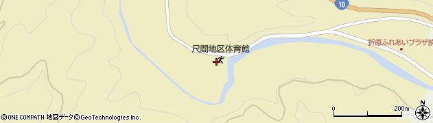 大分県佐伯市弥生大字尺間538周辺の地図