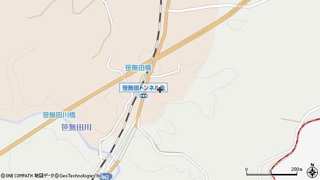 大分県竹田市三宅坂下周辺の地図