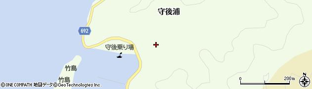 大分県佐伯市守後浦993周辺の地図