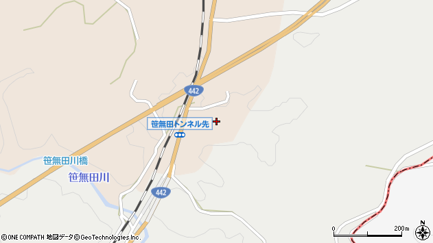 大分県竹田市三宅1853周辺の地図