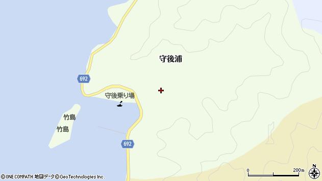 大分県佐伯市守後浦900周辺の地図