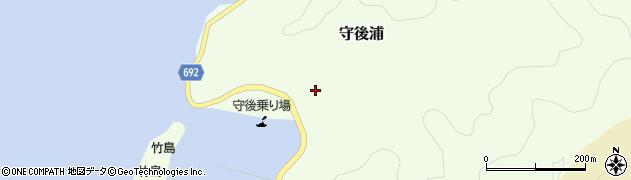 大分県佐伯市守後浦881周辺の地図